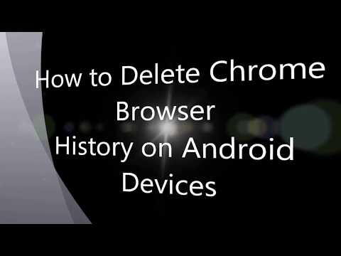 How to Delete Chrome Browser History on Android Phone/Tablet