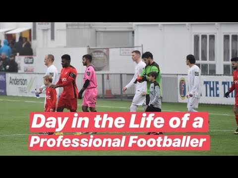 Day in the Life of a Professional Football Player