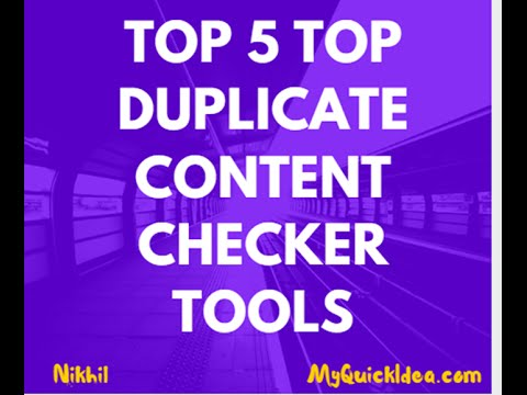 6 Best Duplicate Content Checker Tools to Solve Content Theft Issue