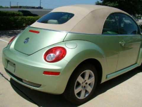 2007 Volkswagen New Beetle Convertible Austin TX