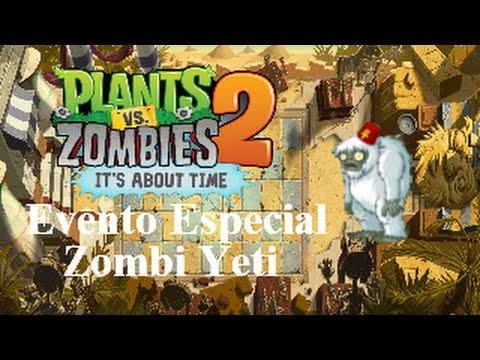 Plants vs. Zombies 2: It's About Time! - Evento Especial, Zombi Yeti (¡La tartera del tesoro!) -
