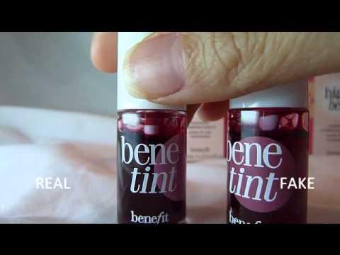 Fake Vs. Real BENEFIT: Bene Tint, Posie Tint & High Beam