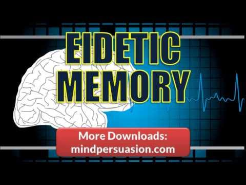 Photographic Memory   Release Your Genius   Eidetic Memory Power