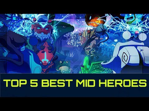 TOP 5 OP Mid Heroes For Easy MMR - PATCH 7.14