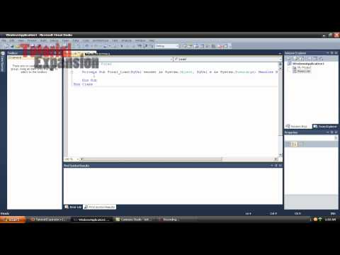 Visual Basic 2010 Tutorial 12 Picture Box URL Loading
