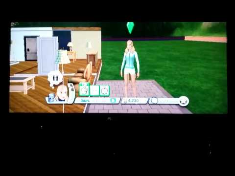 Sims 3 Wii. Episode 2.Moving In!