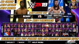 350 MB) GAMERNAFZ WWE 2K18 V1 77 HIGHLY COMPRESSED/PPSPP