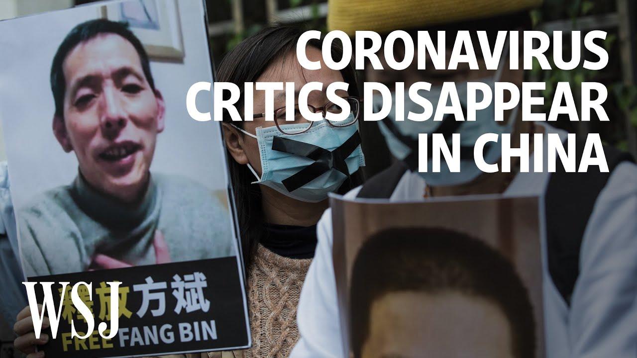 Coronavirus Critics Disappear in China | WSJ
