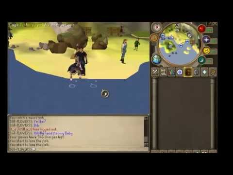 Runescape: Fishing!! (with meh hands)