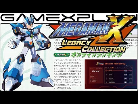 Mega Man X Collection - NEW Details on X Challenge (New Story, New Armor, & Difficulty Select)