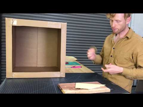 How To Make A Slingshot Target / Catch Box