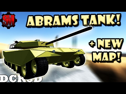M1 ABRAMS TANK + NEW MAP! (DCR Best Creations) - Dream Car Racing 3D Gameplay Ep20