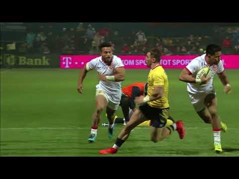 HIGHLIGHTS Romania - Tonga 20-25, meci test