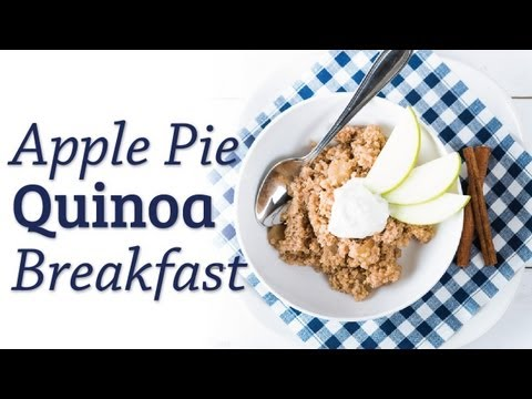 Apple Pie Quinoa Breakfast - The Hot Plate