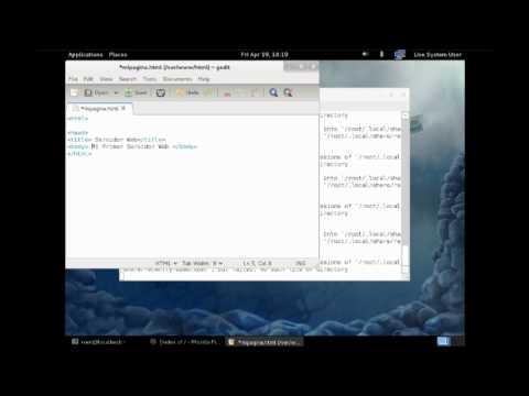 Instalación de Servidor Web Apache en Fedora