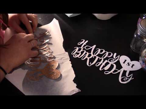 cricut - cake topper tutorial video