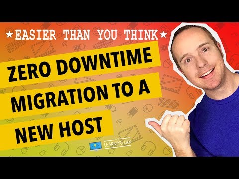 Transfer Website To New Host With Zero Downtime