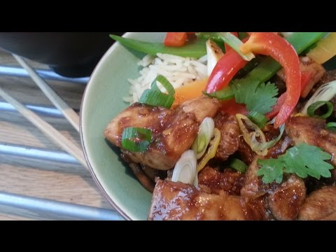 Honey Soy Ginger Chicken | Slimming Recipe