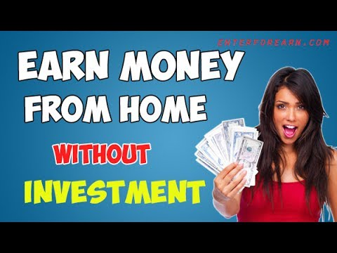 Earn Money Without Investment in Home in App