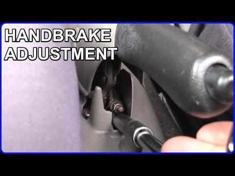 Handbrake Adjustment - Nissan Micra K11