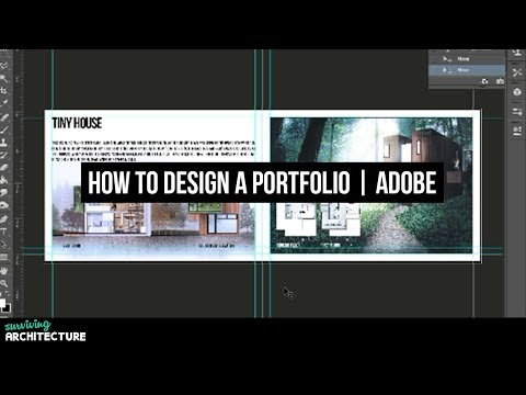 How to make a portfolio for Architects, Interns and Students in Adobe Photoshop (Part 2)