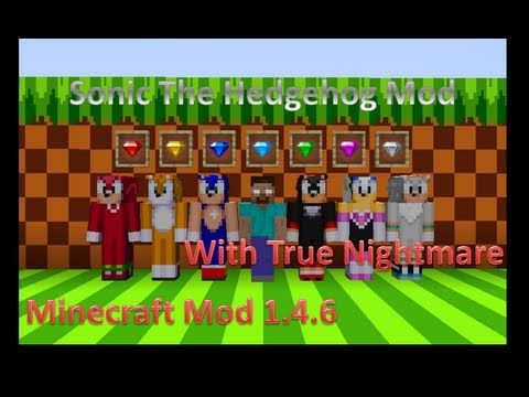 Minecraft Mod: Sonic The Hedgehog Mod