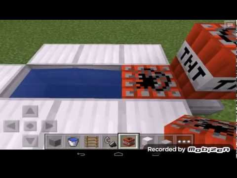 How to make TNT cannons on minecraft pe no mods