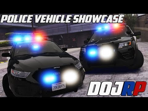 DOJ Police Department NEW Vehicle Pack Showcase