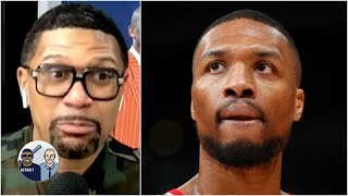 'That's flames right there!' - Jalen Rose reacts to Dame Lillard's no-play comments   Jalen & Jacoby