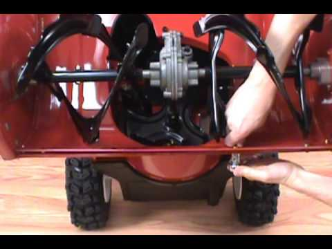 Replacing the Scraper Blade - Toro Two-Stage Snow Blower