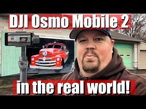 DJI Osmo Mobile 2  - Real World Usage