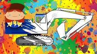 Doctor Mac Wheelie auf Deutsch 🚗 #FarbenLernen mit Dr Mc Wheelie 🎨 #Kinder #Zeichentrick 😉