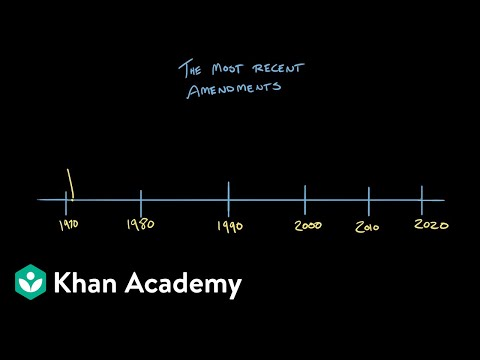 Article V of the Constitution | US Government and Politics | Khan Academy