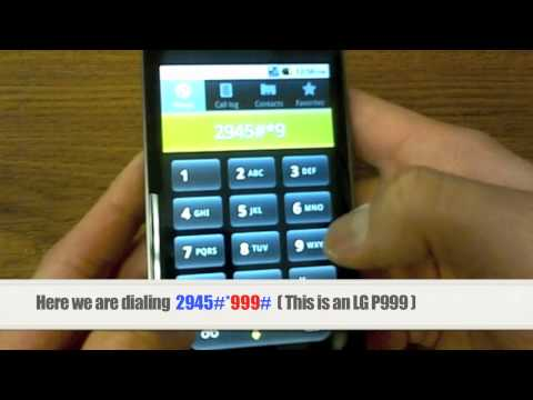 Unlock LG | How to Unlock any LG Phone by Unlock Code Instructions, Tutorial + Guide