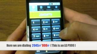 Unlock Lg How To Unlock Any Lg Phone By Unlock Code Instructions Tuto