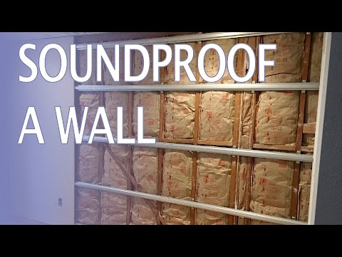 Soundproof a Wall: How To (and stop hearing noisy neighbors watching TV at 3am!)