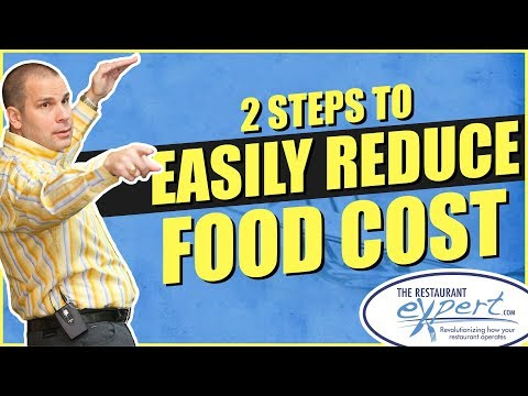 Restaurant Management Tip - 2 Steps to Easily Reduce Food Cost #restaurantsystems