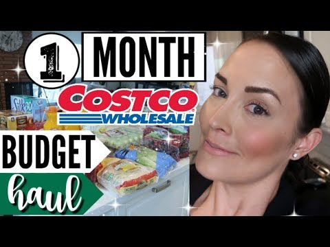 MAY 2018 COSTCO SHOP WITH ME VLOG + GROCERY HAUL ● ONCE A MONTH SHOPPING ● WALMART HAUL