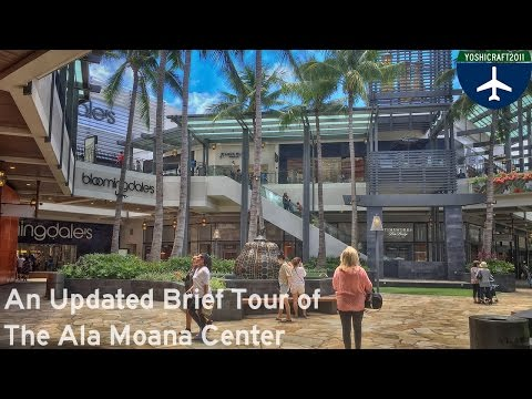 An Updated Brief Tour of the Ala Moana Center