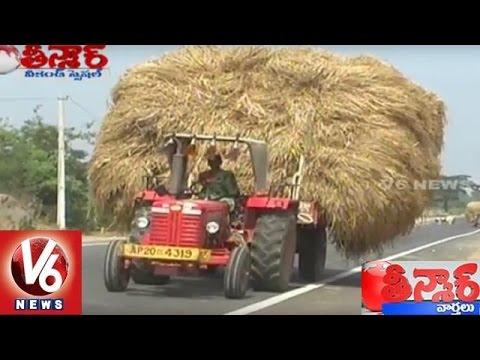 Woman Drive Tractors For Family Survival || Bithiri Sathi || Weekend Teenmaar || V6 News