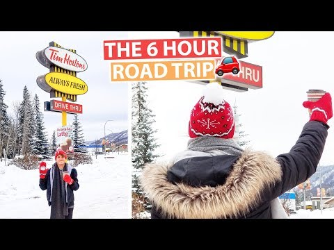The 6 Hour EPIC Journey to Tim Hortons | Canada Vlog