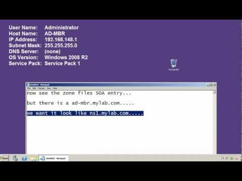 Installing and configuring stand-alone dns server in windows server 2008 R2