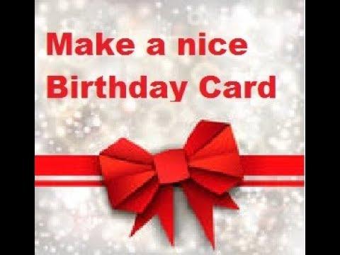 Make a birthday card using MS Word