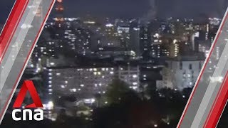 Download Japan issues tsunami warning after earthquake Video