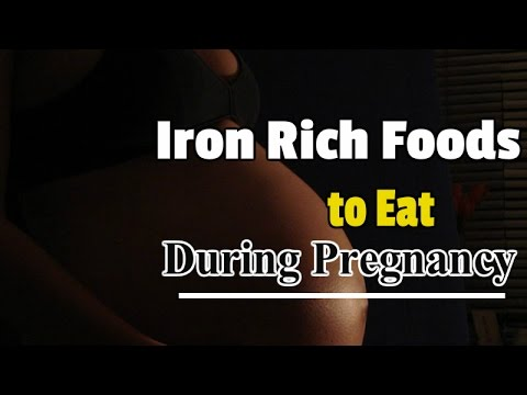 Iron Rich Foods to Eat During Pregnancy
