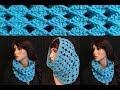 How to Crochet a Cowl / Neck Warmer Pattern #286│by ThePatternFamily
