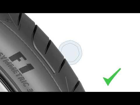 20p Tyre Tread Depth Check