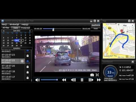 Garmin Nuvi 2575R GPS - Driving Recorder PC Tool