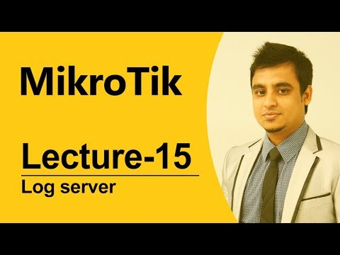 Mikrotik Bangla tutorial-15 (MTCNA):How to create log server?(Tested Project)