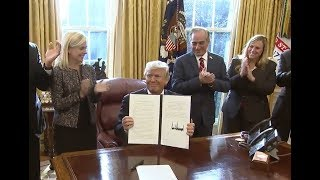 BREAKING: President Donald Trump Signs CRUCIAL Executive Order PROTECTING Veterans & Their Families